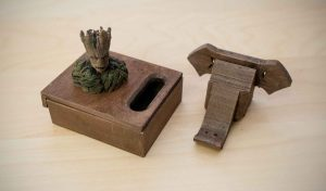 3D Printing with Wood Filament