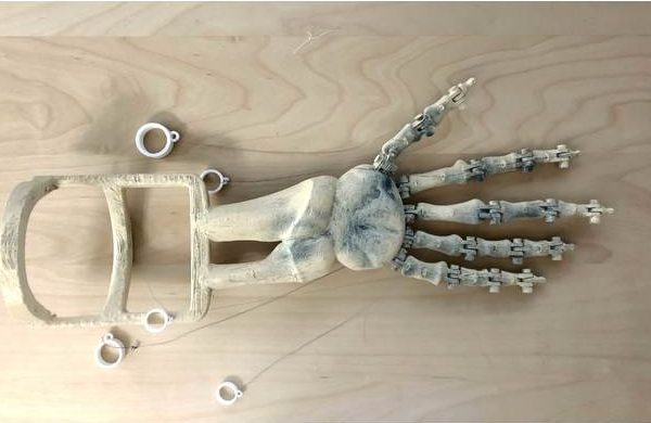 3d printed skeleton arm